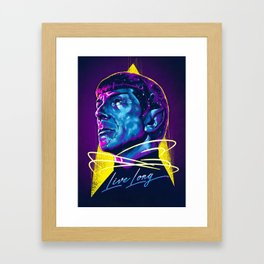 And Prosper Framed Art Print