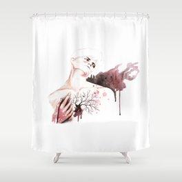 Judas Kiss Shower Curtain