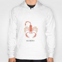 scorpio Hoodies featuring Scorpio by Dano77