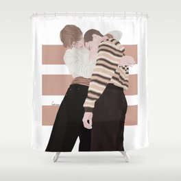Henrik Holm and Tarjei Sandvik Moe | skam cast Shower Curtain