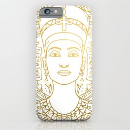 Nefertiti Mandala – Egypt iPhone Case