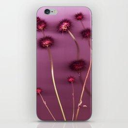 Purple Chia iPhone Skin
