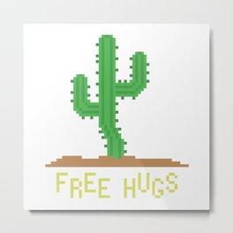 free hugs 2 Metal Print
