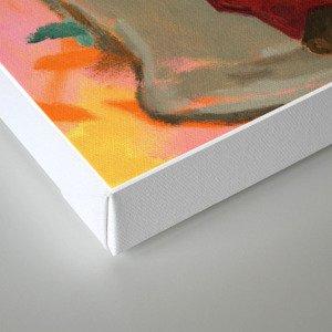 """Primitive Neurological Circuitry (Chimp on Toilet)"" Canvas Print"