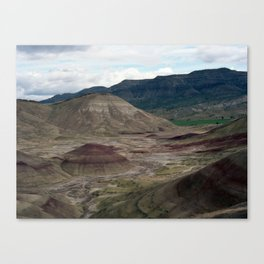 Painted Hills Of Oregon Canvas Print