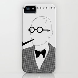 Le Corbusier iPhone Case