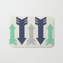 Arrow, Arrow, Arrow. What's going on 'ere then? Bath Mat