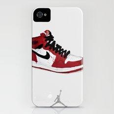Nike Air Force 1 - Retro - Red & Black & White iPhone (4, 4s) Slim Case
