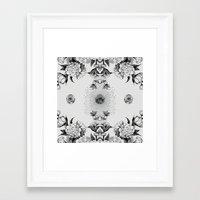 amy sia Framed Art Prints featuring SIA by Nikola Nupra