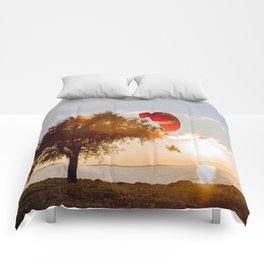 Grand Escape on Summer Sunset Comforters
