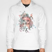 gypsy Hoodies featuring Gypsy  by Kate Melendez