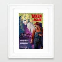 Framed Art Prints featuring Taken . . . Again by Astor Alexander