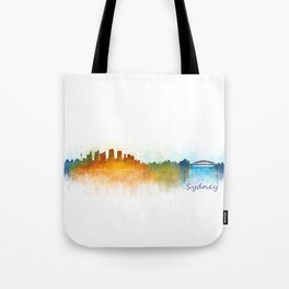Sydney City Skyline Hq v3 Tote Bag