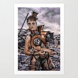 Steampunk 1 Art Print