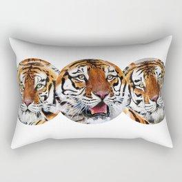 Texas Tiger Trio Rectangular Pillow