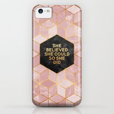 She believed she could so she did Slim Case iPhone 5c