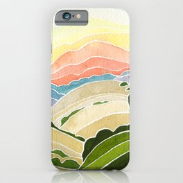 East Bay Devil Mountain in Summer iPhone Case