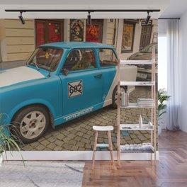 Retro car Wall Mural