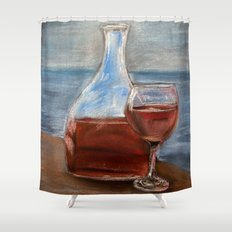 Elegance with ambiance Shower Curtain