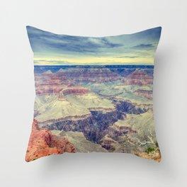 Grand Canyon. Throw Pillow