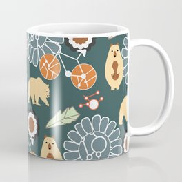 Bikes, bears and flowers Coffee Mug