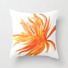Hoja de Palmera Throw Pillow