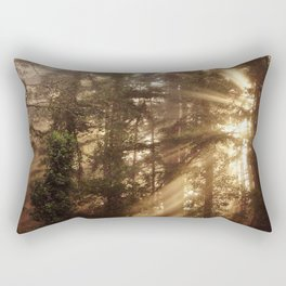 Golden Light Rectangular Pillow