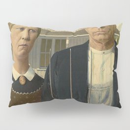 AMERICAN GOTHIC - GRANT WOOD Pillow Sham