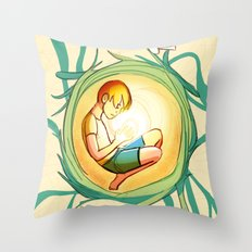 Tangled Thoughts Throw Pillow