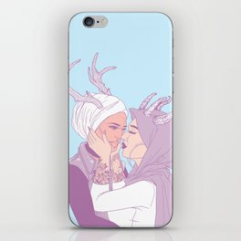 my love, you and i iPhone Skin