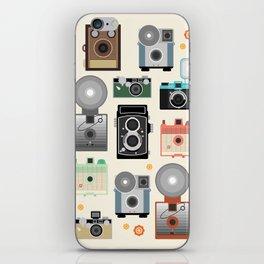 1960s Vintage Cameras iPhone Skin