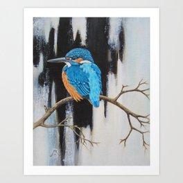 Turquoise jewel Art Print