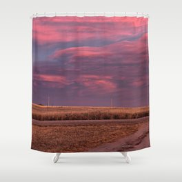 East of Sunset Shower Curtain