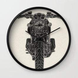GT1000 Motorcycle Wall Clock