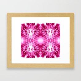 Dandelions Psycacerise Framed Art Print