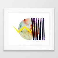 titan Framed Art Prints featuring Titan. by Crazy&CoolDesigns