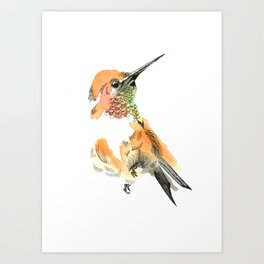 Spirit Orange Art Print