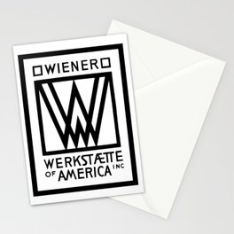 Wiener Werkstaette of America Stationery Cards