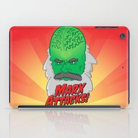 marx iPad Cases featuring Marx Attacks! by ericbennettart
