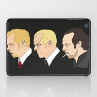 shaun of the dead iPad Cases featuring Simon Pegg - Shaun Of The Dead, Hot Fuzz and The World's End by Tomcert
