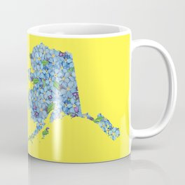 Alaska in Flowers Coffee Mug
