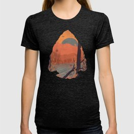 Autumn in the Gorge... - Arrowhead T-shirt
