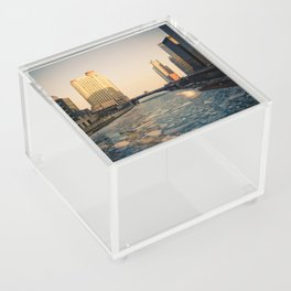 Winter Acrylic Box