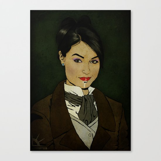 The picture of Sasha Gray Canvas Print
