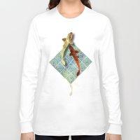 koi Long Sleeve T-shirts featuring Koi by Elsa Herrera-Quinonez