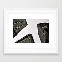 boston Framed Art Prints featuring boston  by Anna Malafronte