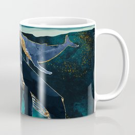 Moonlit Whales Coffee Mug
