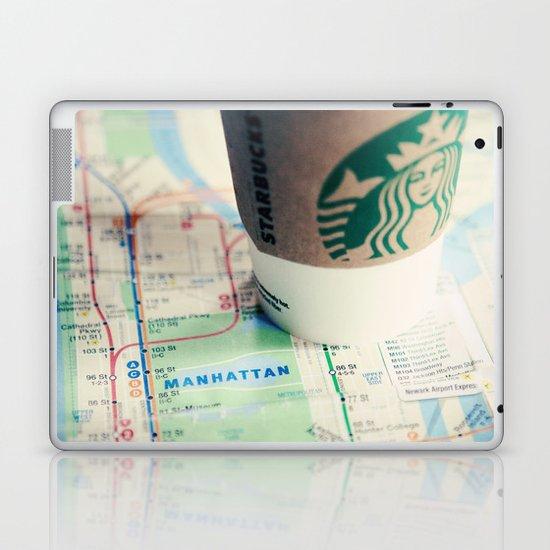 Manhattan and Starbucks Laptop & iPad Skin