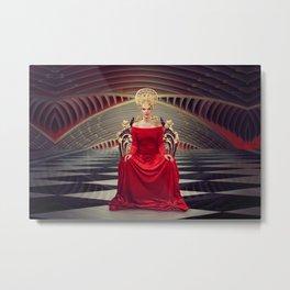Queen of red Metal Print