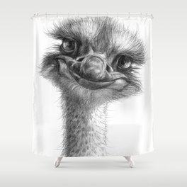 Hello-you ostrich sk130 Shower Curtain